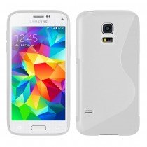 Hoesje Samsung Galaxy S5 Mini TPU case transparant