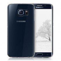 Hoesje Samsung Galaxy S6 Edge Flexi bumper - 0,3mm - doorzichtig
