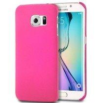 Hoesje Samsung Galaxy S6 Edge hard case roze