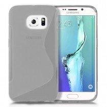 Hoesje Samsung Galaxy S6 Edge TPU case smoke