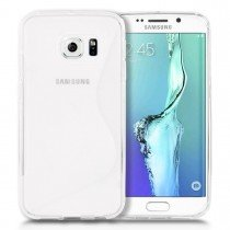 Hoesje Samsung Galaxy S6 Edge TPU case transparant