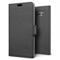 Hoesje Samsung Galaxy S7 Active flip wallet zwart
