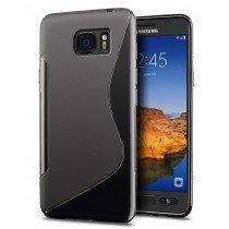Hoesje Samsung Galaxy S7 Active TPU case zwart