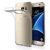 Hoesje Samsung Galaxy S7 Edge Flexi bumper - 0,3mm - doorzichtig