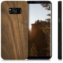 Hoesje Samsung Galaxy S8 hout - wood case