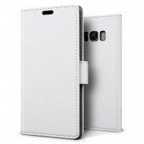 Hoesje Samsung Galaxy S8 Plus flip wallet wit