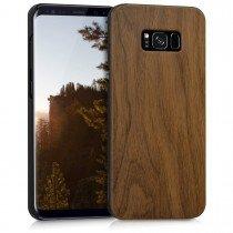 Hoesje Samsung Galaxy S8 Plus hout - wood case