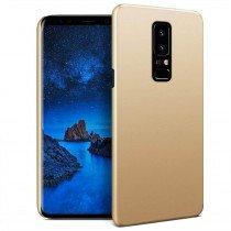 Hoesje Samsung Galaxy S9 hard case goud