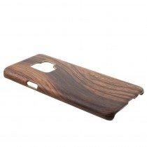 Hoesje Samsung Galaxy S9 hout - wood case
