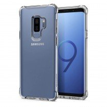 Spigen Rugged Crystal voor Samsung Galaxy S9 Crystal Clear