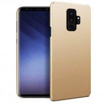 Hoesje Samsung Galaxy S9+ hard case goud