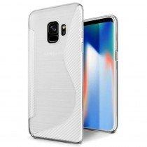 Hoesje Samsung Galaxy S9 Plus TPU case transparant