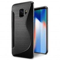 Hoesje Samsung Galaxy S9 Plus TPU case zwart