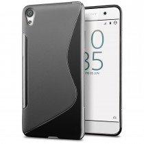 Hoesje Sony Xperia E5 TPU case zwart