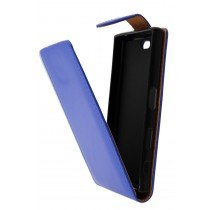 Hoesje Sony Xperia X Compact flip case blauw