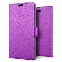 Hoesje Sony Xperia X Compact flip wallet paars