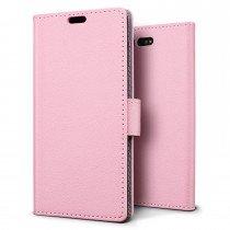 Hoesje Sony Xperia X Compact flip wallet roze