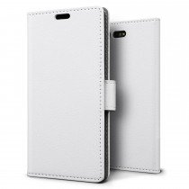Hoesje Sony Xperia X Compact flip wallet wit
