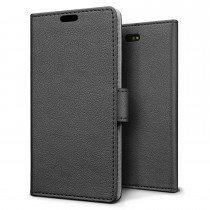 Hoesje Sony Xperia X Compact flip wallet zwart