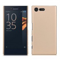 Hoesje Sony Xperia X Compact hard case goud
