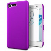 Hoesje Sony Xperia X Compact hard case paars