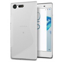 Hoesje Sony Xperia X Compact TPU case transparant