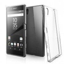 Hoesje Sony Xperia X Flexi bumper - 0,3mm - doorzichtig
