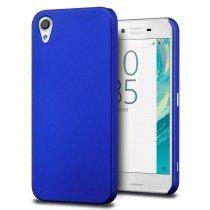 Hoesje Sony Xperia X hard case blauw