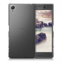 Hoesje Sony Xperia X hard case transparant