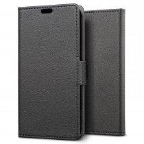 Hoesje Sony Xperia XA Ultra flip wallet zwart