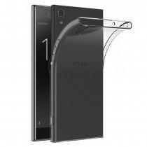 Hoesje Sony Xperia XA1 Flexi bumper - 0,3mm - doorzichtig