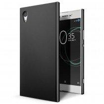 Hoesje Sony Xperia XA1 hard case zwart
