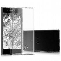 Hoesje Sony Xperia XA1 Plus hard case transparant