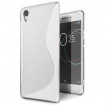 Hoesje Sony Xperia XA1 TPU case transparant