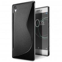 Hoesje Sony Xperia XA1 TPU case zwart