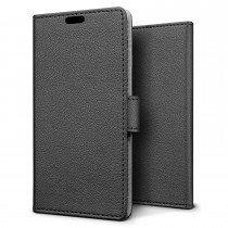 Hoesje Sony Xperia XZ flip wallet zwart