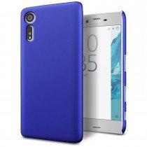 Hoesje Sony Xperia XZ hard case blauw