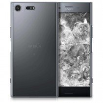 Hoesje Sony Xperia XZ Premium hard case transparant