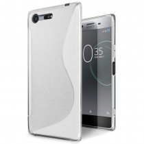 Hoesje Sony Xperia XZ Premium TPU case transparant