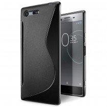 Hoesje Sony Xperia XZ Premium TPU case zwart
