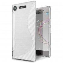 Hoesje Sony Xperia XZ1 TPU case transparant
