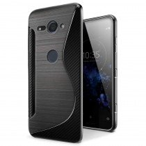 TPU hoesje Sony Xperia XZ2 Compact zwart