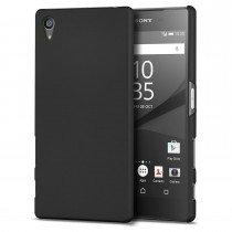 Hoesje Sony Xperia Z5 hard case zwart