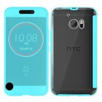 HTC 10 Smart Ice View cover blauw