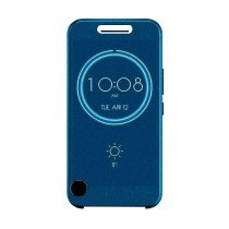 HTC 10 Smart Ice View cover donker blauw