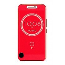 HTC 10 Smart Ice View cover rood