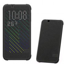 HTC Desire 510 Dot view flip case HC M130 zwart