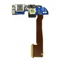HTC One M8 Micro USB connector met board
