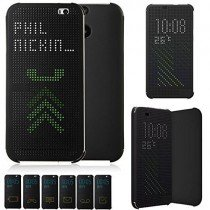 HTC One M9 Dot view cover zwart