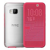 HTC One M9 Dot view Ice flip case HC M232 roze